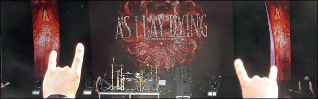 As I Lay Dying concert live rock am ring rock im park 2010 video photo