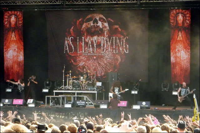 video photo As I Lay Dying concert live rock am ring 2010 rock im park