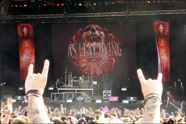 video photo As I Lay Dying concert live rock am ring rock im park 2010
