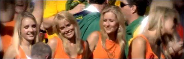 babes filles foot coupe du monde football sexy