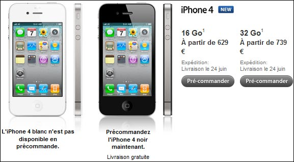 reserver iphone 4 apple store