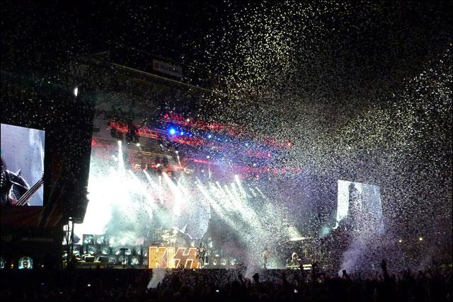 Kiss photo concert live rock am ring rock im park 2010 RAR RIP