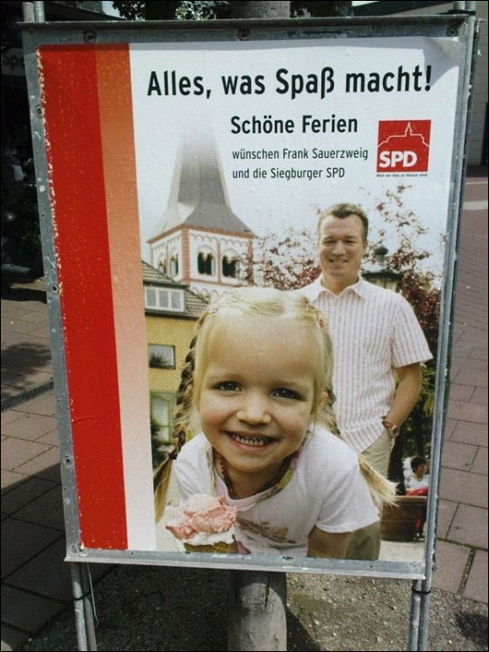 photo publicite failed pedobear SPD allemagne pedophile advert
