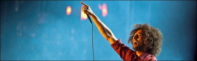 photo video RATM Rage Against The Machine Rock am Ring Rock im Park RAR 2010 Zack de La Rocha
