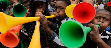 vuvuzela photo image trompette football afrique du sud