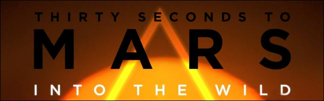 30 seconds to mars this is war into the wild tour affiche photo