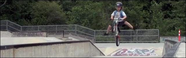 bmx gamin 5 ans video Jackson Goldstone