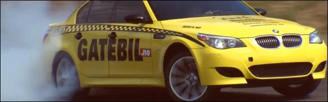 photo video hd drift norvege bmw m5 gatebil top16 battle