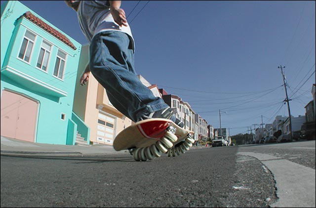 hoverboard skateboard futur demo demonstration photo