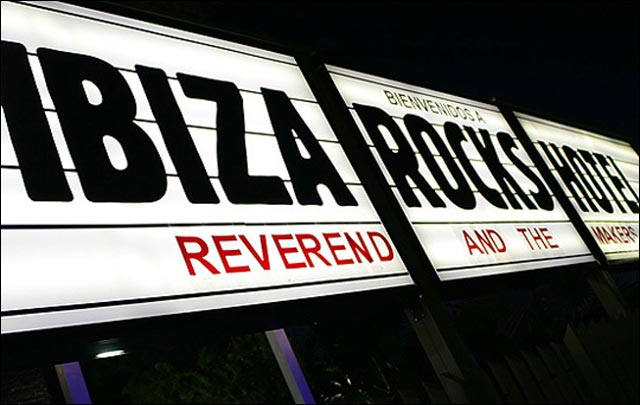 ibiza rocks hotel entrance photo entree