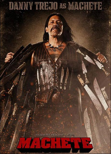 Machete photo affiche du film danny trejo
