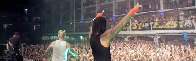 prodigy concert ibiza rocks hotel video hd