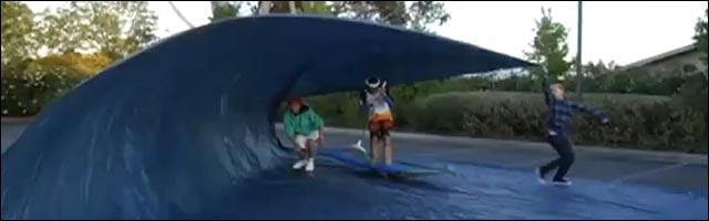 trap surfing surf bache sans eau