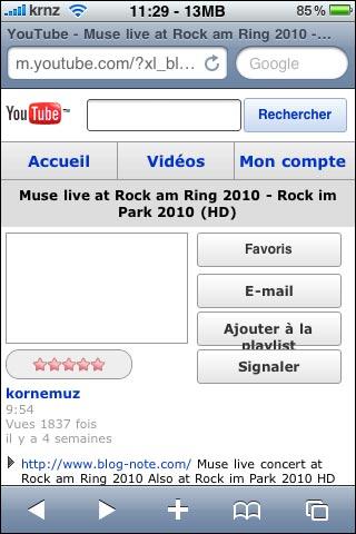 new youtube mobile screenshot iphone video