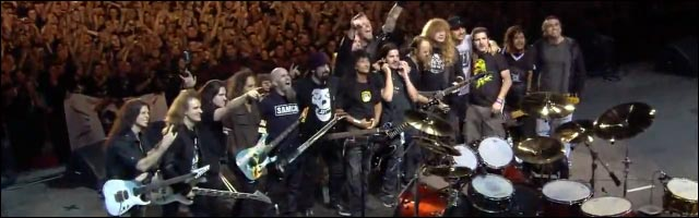 photo video hd the big four live metallica slayer megadeath anthrax