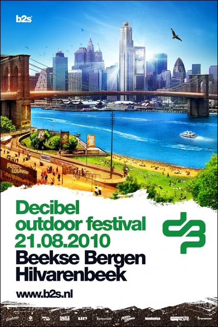 decibel outdoor festival 2010 affiche hollande photo sexy