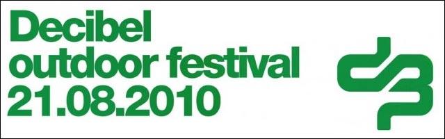 decibel outdoor festival 2010 line up video hd