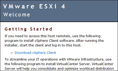 tutoriel installation vmware esxi 4 sur cle usb photo