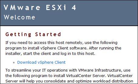 tutoriel installation vmware esxi 4 sur cle usb photo