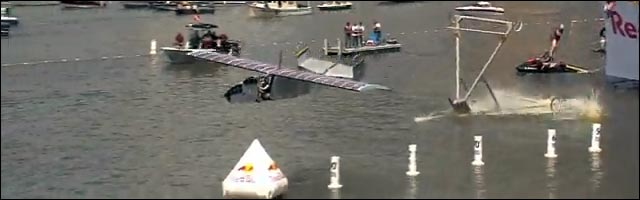 record du monde avion red bull flugtag flight day video hd