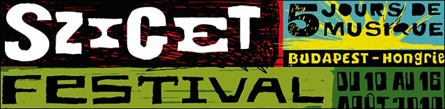 sziget festival 2010 photo affiche programmation complete