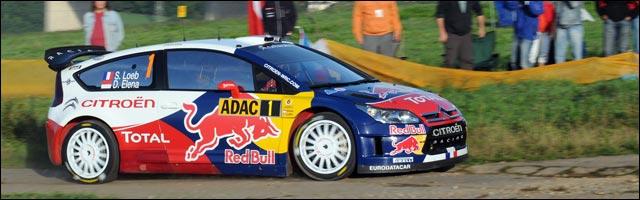 WRC sebastien loeb rallye de france 2010