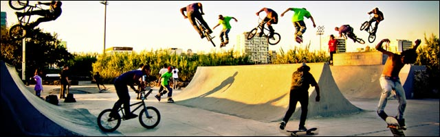 photo montage photoshop skatepark picture bmx skate sk8