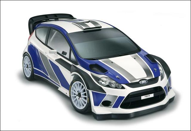 photo video Ford Fiesta RS WRC 2011 2012