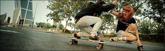 Le longboard est aussi un sport de filles