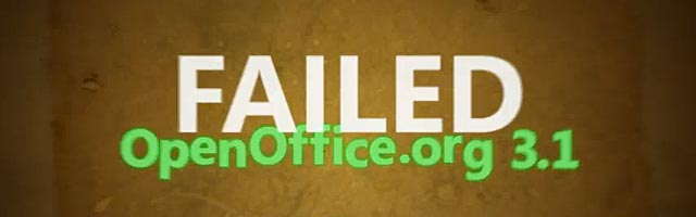 open office failed open source