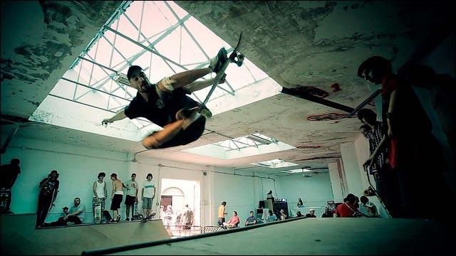 photo video hd skatepark construction test sk8 my god rides the skateboard