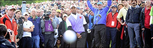 Tiger Woods golf photo oeil photographe