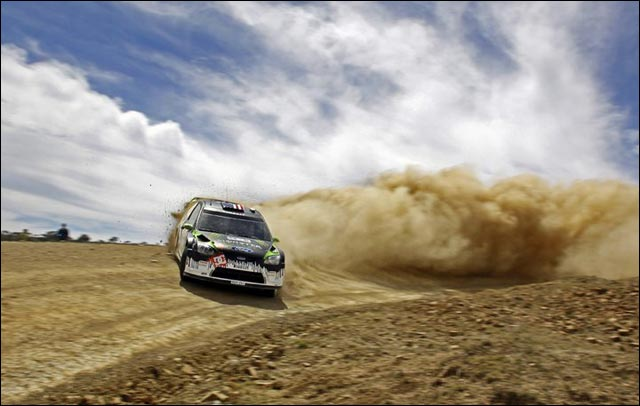 photo rallye wrc Ken Block Ford Focus RS 2010