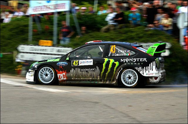 photo haute definition Ken Block rallye Ford Focus RS WRC 2011