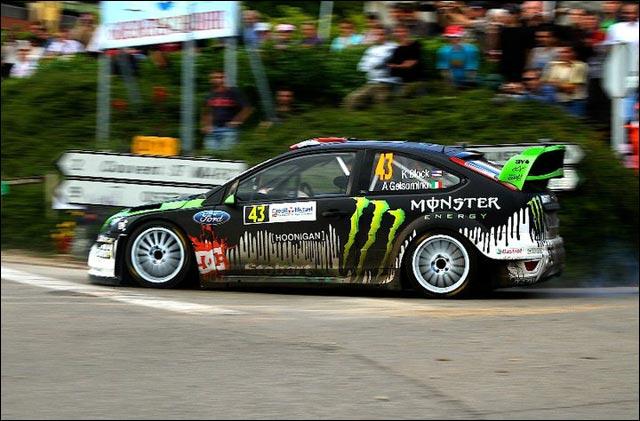 photo haute definition Ken Block rallye Ford Focus RS WRC 2011