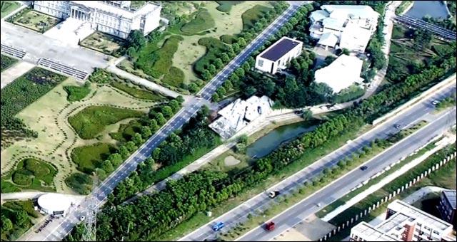 construction hotel chine avant photo chantier