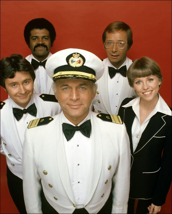 equipe equipage croisiere s'amuse the love boat serie tv tf1