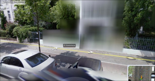 32 Hubertusallee, Berlin, Deutschland maison google maps street view