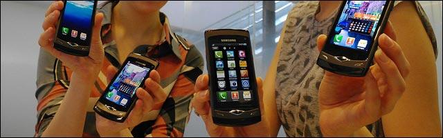 telephone mobile presentation samsung smartphone photo