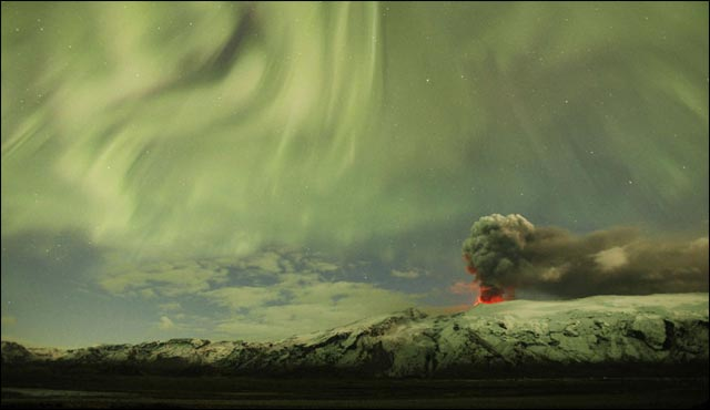 best of photos 2010 Reuters AFP volcan islande aeroport pagaille