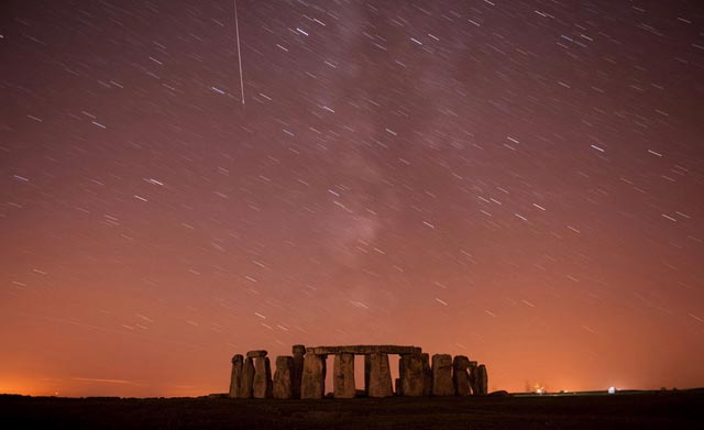 best of photo 2010 Reuters stonehenge ciel univers nuit