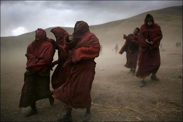 best of photo 2010 Reuters moine tibet