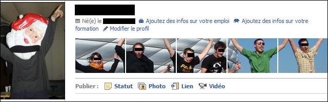 Facebook nouveau profil 2010 2011 tutoriel photo panoramique