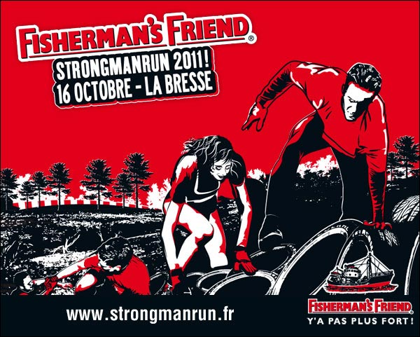 ffsmr fisherman friend strongman run 2011 france la bresse vosges affiche