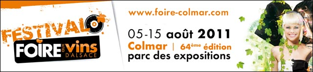 foire aux vins 2011 fav logo affiche du 05 au 15 aout 2011