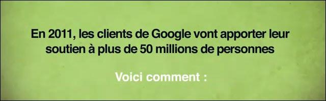 google joyeuses fetes 2010 philanthrope don humanitaire noel