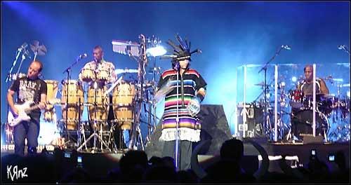 jamiroquai concert live photo hd foire aux vins colmar fav 2006