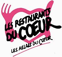 logo Restos du Coeur Coluche Restos Bebe du Coeur action donnez