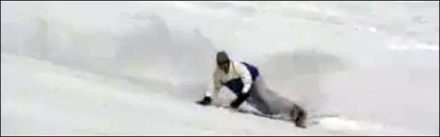 snowboard couché virage Carving Snowboard Extremecarving video