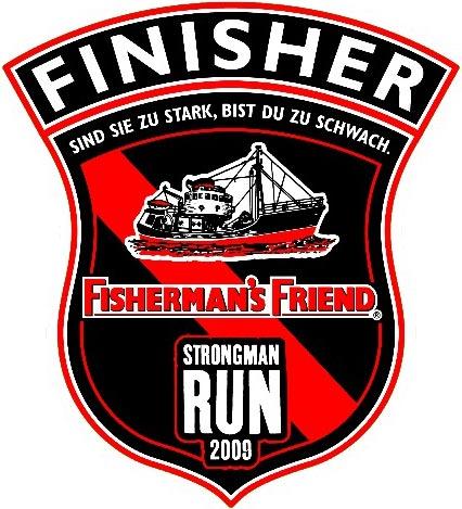medaille strongman run finisher FFSMR strongmanrun course
